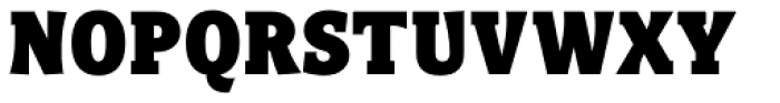 Titla Brus Condensed Black Font UPPERCASE