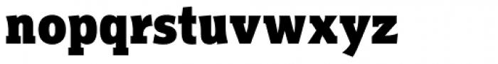 Titla Brus Condensed Black Font LOWERCASE