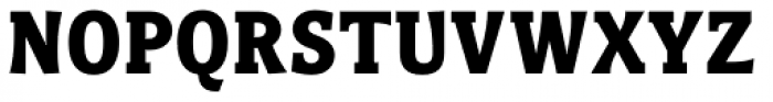 Titla Brus Condensed Bold Font UPPERCASE