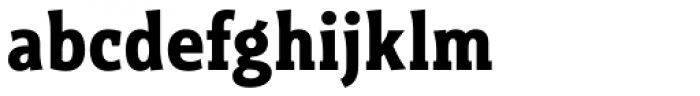 Titla Brus Condensed Bold Font LOWERCASE