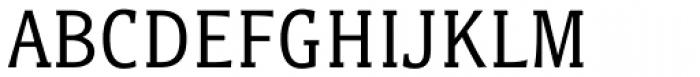 Titla Brus Condensed Book Font UPPERCASE