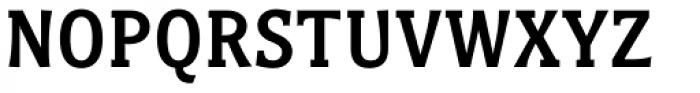 Titla Brus Condensed Medium Font UPPERCASE
