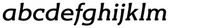 Titla Brus Medium Italic Font LOWERCASE