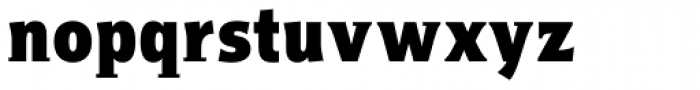 Titla Cond Black Font LOWERCASE
