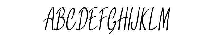 Tinsel-ExtracondensedRegular Font UPPERCASE