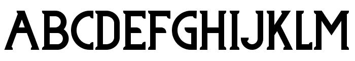 TJ Lordo One Font UPPERCASE