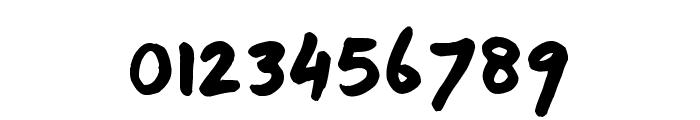 TJC 82 Marker Font OTHER CHARS