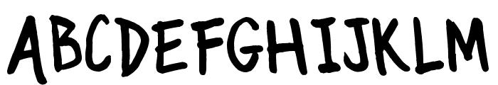 TJC 82 Marker Font UPPERCASE