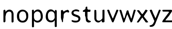 Tjackluder Font LOWERCASE