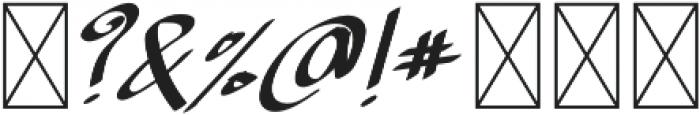 TK Normal B Bold Italic otf (400) Font OTHER CHARS