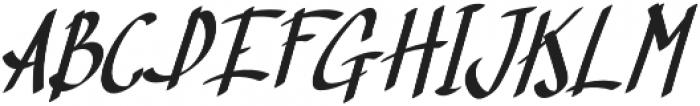 TK Normal B Bold Italic otf (400) Font UPPERCASE