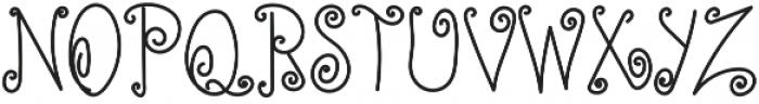 TK Simple Corner Bold otf (700) Font UPPERCASE