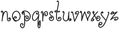 TK Simple Corner Bold otf (700) Font LOWERCASE