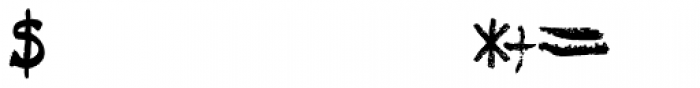 Tkachenko Sketch 4F Bold Font OTHER CHARS