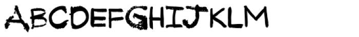 Tkachenko Sketch 4F Bold Font UPPERCASE