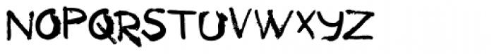 Tkachenko Sketch 4F Bold Font LOWERCASE
