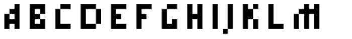 Tkachevica 4 px Font UPPERCASE