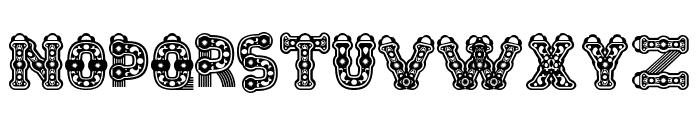 Tlaloc Regular Font UPPERCASE