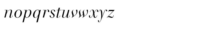 Tlmaque FY Italic Font LOWERCASE