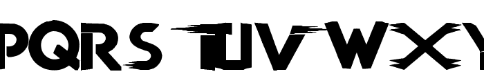 TNA LOGO Font LOWERCASE