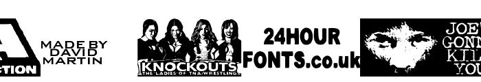 TNA Lockdown Font OTHER CHARS