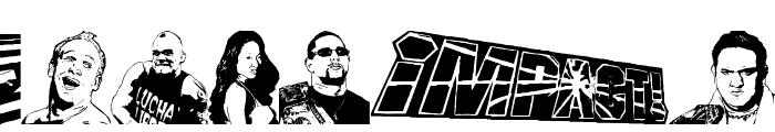 TNA Lockdown Font UPPERCASE