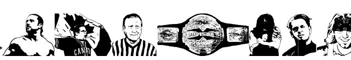 TNA Lockdown Font LOWERCASE