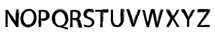 TNEWPRO Normal Font UPPERCASE