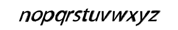 TNEWPRO NormalItalic Font LOWERCASE
