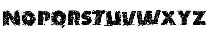 TNT X Plosion Font UPPERCASE