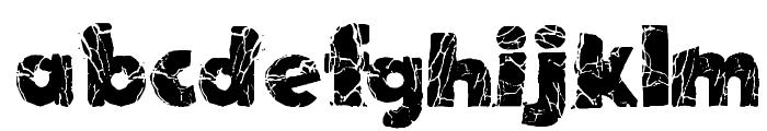 TNT X Plosion Font LOWERCASE