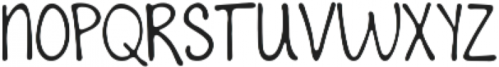 To The Point ttf (400) Font UPPERCASE