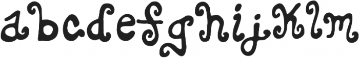 ToTo otf (400) Font LOWERCASE