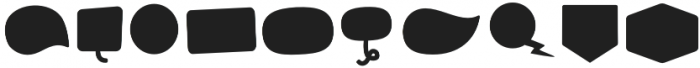 Tobi Greek Cyrillic Shape otf (400) Font OTHER CHARS