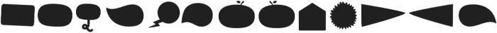 Tobi Greek Cyrillic Shape otf (400) Font UPPERCASE