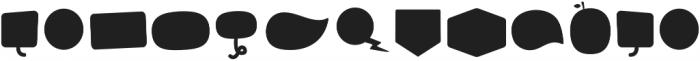Tobi Greek Cyrillic Shape otf (400) Font LOWERCASE