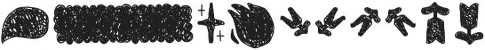 Tobi Pro Dingbat Hand otf (400) Font OTHER CHARS