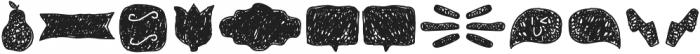 Tobi Pro Dingbat Hand otf (400) Font UPPERCASE