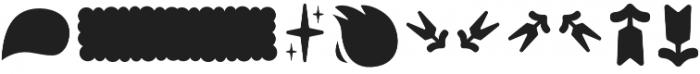 Tobi Pro Dingbat otf (400) Font OTHER CHARS