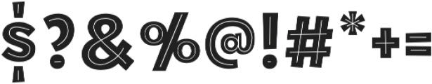 Tobi Pro Heavy Bonus One otf (800) Font OTHER CHARS