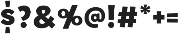 Tobi Pro Heavy otf (800) Font OTHER CHARS