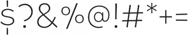 Tobi Pro Light otf (300) Font OTHER CHARS