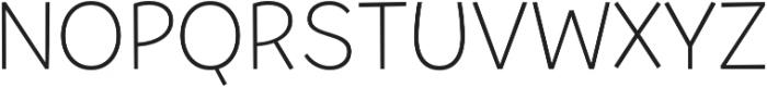 Tobi Pro Light otf (300) Font UPPERCASE
