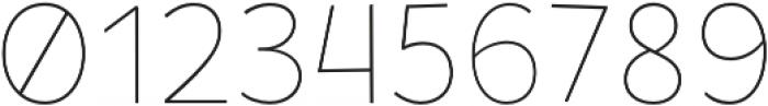 Tobi Pro Thin otf (100) Font OTHER CHARS
