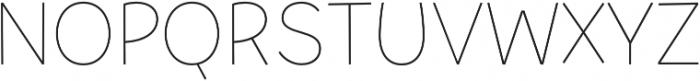Tobi Pro Thin otf (100) Font UPPERCASE