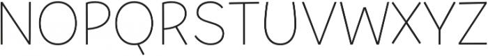 Tobi Pro UltraLight otf (300) Font UPPERCASE