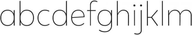 Tobi Pro UltraLight otf (300) Font LOWERCASE