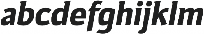 Toffee Display Bold otf (700) Font LOWERCASE