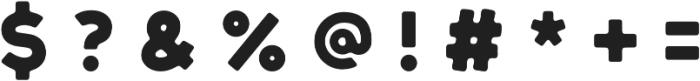 Tofino otf (400) Font OTHER CHARS
