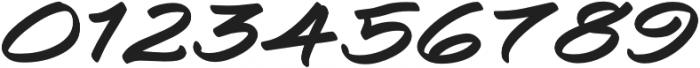 Togashi Expanded Italic otf (400) Font OTHER CHARS